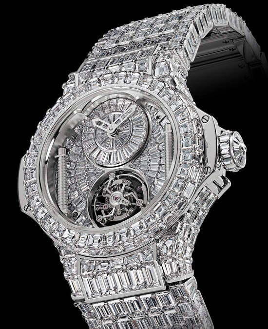 2 Million Euro BB Hublot - New expensive jewelry watch by Hublot