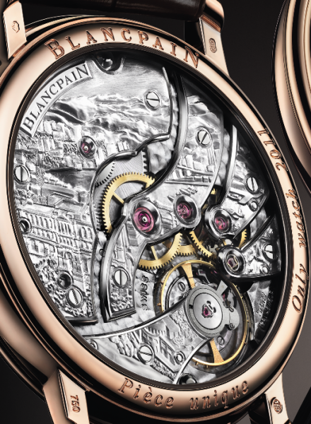 Blancpain Villeret Grand Decoration - Only Watch 2011