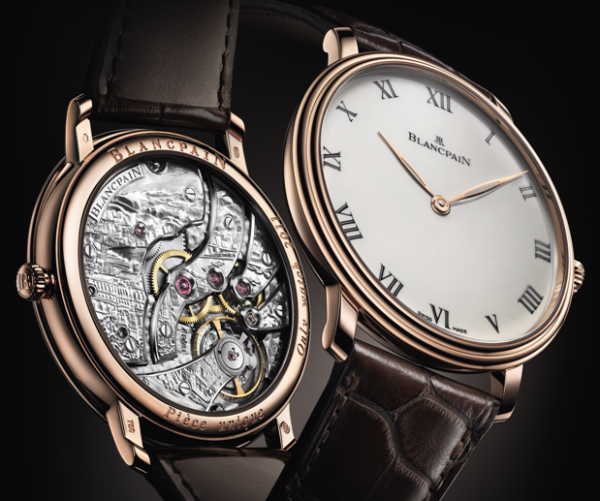 Blancpain Villeret Grand Decoration - Only Watch