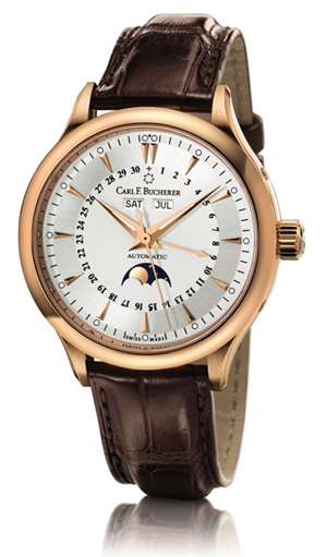 Carl F. Bucherer launches a new MoonPhase watch in the Manero collection