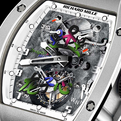 Richard Mille RM 055 JC Jackie Chan Tourbillon watch for Charity