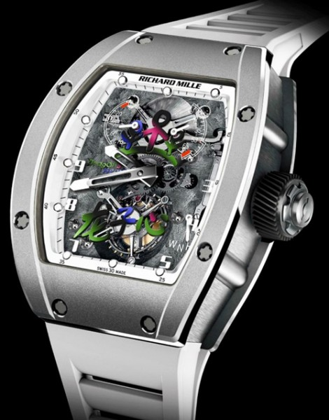 Richard Mille RM 055 JC Jackie Chan Tourbillon watch