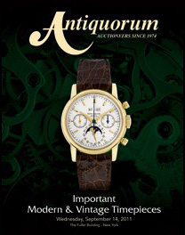 Antiquorum Auction Highlights for Rolex and Patek Philippe