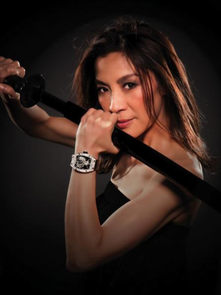 Michelle Yeoh designed a RM 051 Phoenix watch for Richard Mille