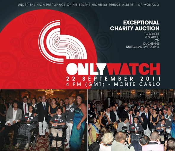 Only Watch 2011 Charity Auction raised €4,563 million