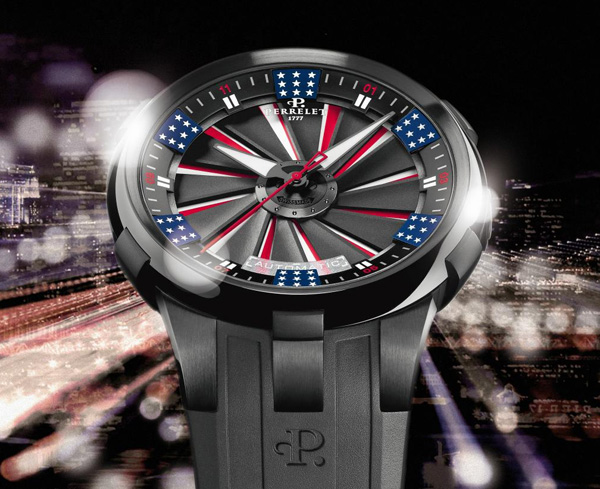 Perrelet Turbine America watch