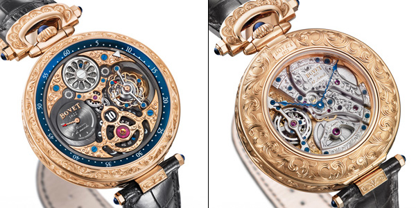 The Artistic crafts Watch by Bovet - The 5-Days Tourbillon Jumping Hours with Reversed Hand-Fitting