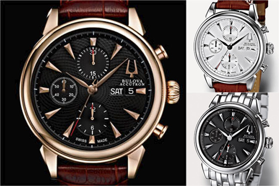 Bulova Accutron Gemini Valjoux watches