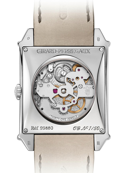 Girard-Perregaux Vintage 1945 Tourbillon Limited Edition with three gold Bridges