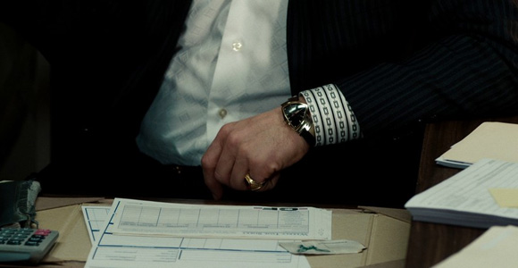Watches in movies: The Green Hornet - Hamilton Ventura