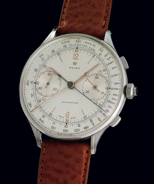 Vintage Rolex Split Seconds Chronograph Ref.4113 (1942)