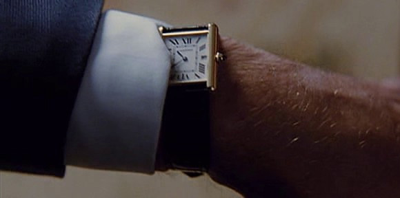 Watches in Movies: X-Men First Class - Cartier watch