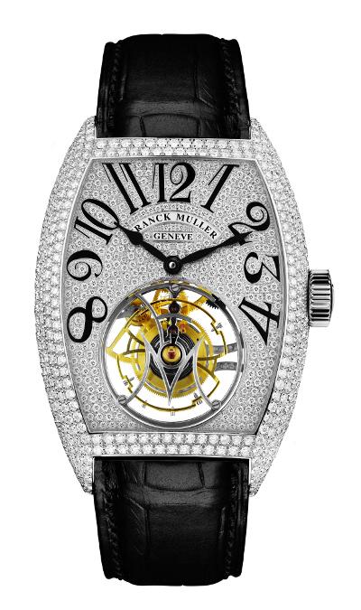 Franck Muller Giga Tourbillon Diamond Watch
