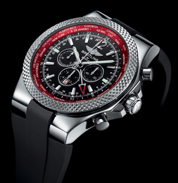 Breitling Bentley GMT V8 Dial