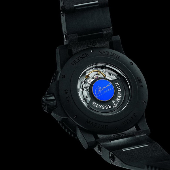 Ulysse Nardine Marine Diver Limited Edition watch for Evgeni Plushenko