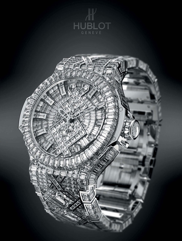 Hublot 5 Million Dollar Watch - the most expensive watch at BaselWorld 2012
