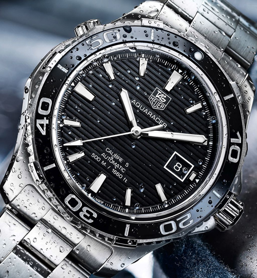 TAG-Heuer-Ceramic-Aquaracer-500M-Steel-Black