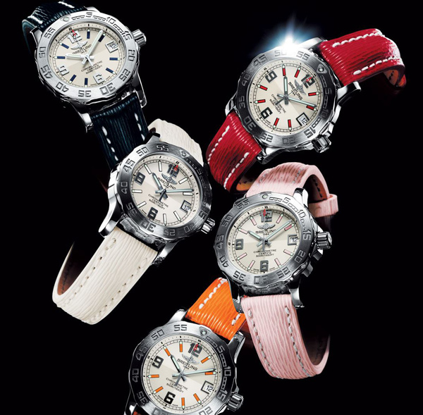 Breitling Colt 33 watch line enriched with new bright colors models