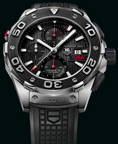 TAG Heuer new Ceramic Aquaracer 500M series 2012