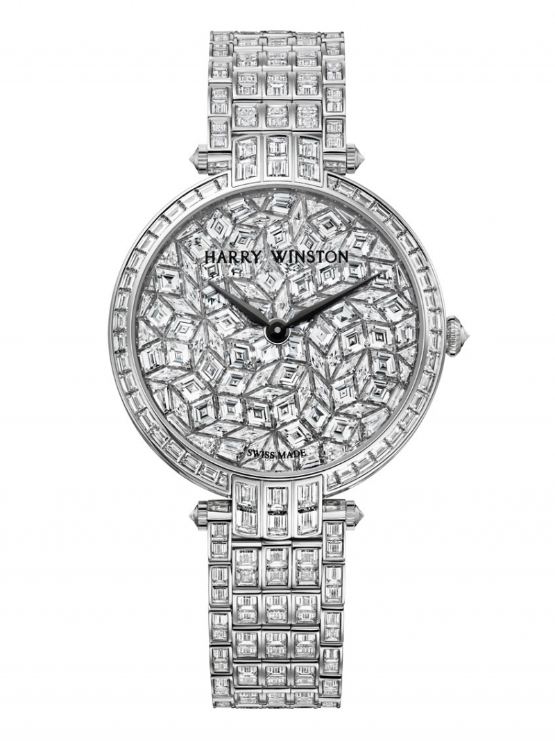 Premier Glacier – Harry Winston's unique luxurious diamond-set watch presented at BaselWorld 2013