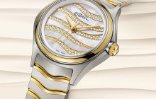 Ebel Wave Diamond Dial 2015 - New Timepiece from Ebel