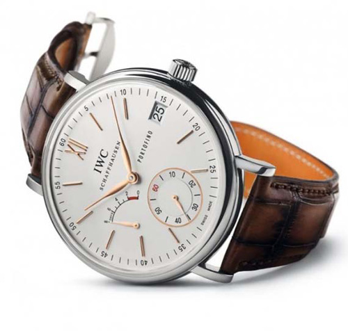 New IWC Portofino Hand-Wound Eight Days at SIHH 2011