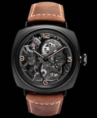 Panerai Lo Scienziato Radiomir Tourbillon - a Skeleton on Your Wrist