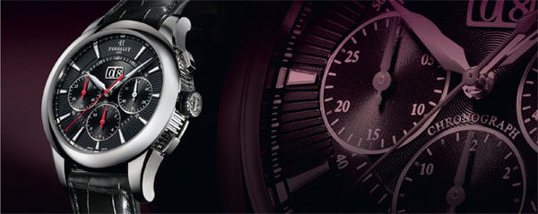 Perrelet Chronograph Big Date Watch Collection 2010 - The Essential Complication