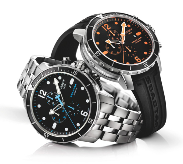 Basel 2011 Preview - Tissot Seastar 1000 watches for diving