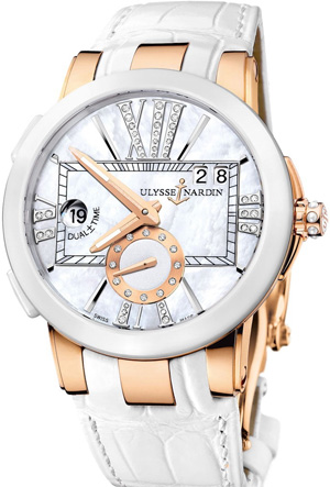 Ulysse Nardin Lady watch - Dual Time Executive GMT