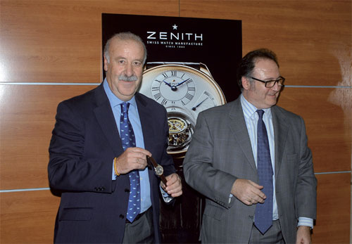Vicente del Bosque - New Ambassador of the ZENITH