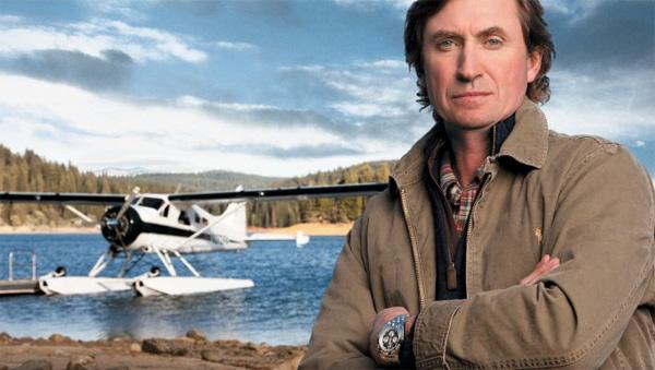 Wayne Gretzky is a new Breitling ambassador