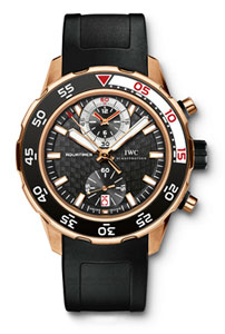 IWC Aquatimer Chronograph Reference 3769 - AQUATIMER 2009 in Pink Gold