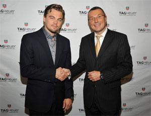 TAG Heuer signs Leonardo DiCaprio as Brand Ambassador