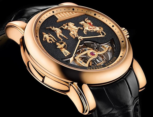 Alexander the Great Minute Repeater Westminster Carillon Tourbillon watch by Ulysse Nardin