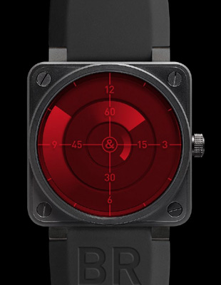 BELL & ROSS - BR 01 Red Radar Limited Edition