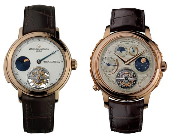 Vacheron Constantin Atelier Cabinotiers Philosophia and Vladimir watches