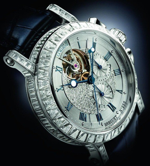 Breguet Marine Tourbillon Ref. 5839 a Beautiful Jewellery Watch