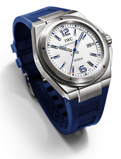 "IWC Ingenieur - Mission Earth ""Plastiki"" limited edition"