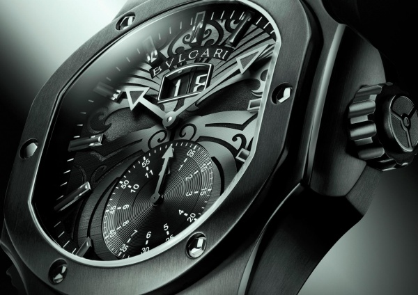 BVLGARI Chronosprint Endurer All Blacks watch for Christchurch charity auction