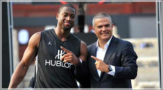 Hublot unveiled Special King Power Dwyane Wade Watch in Beijing
