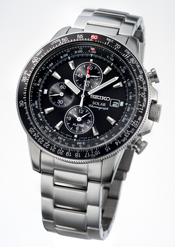 Seiko introduced Solar powered Pilot Watch