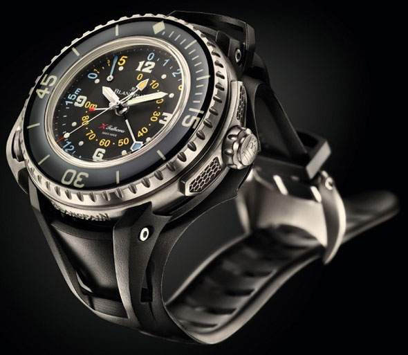 BLANCPAIN X Fathoms - the most high-end mechanical diving watch