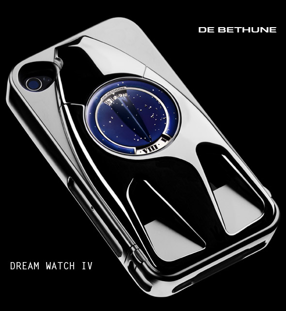 Dream Watch IV for iPhone 4S by De Bethune in tribute to Steve Jobs