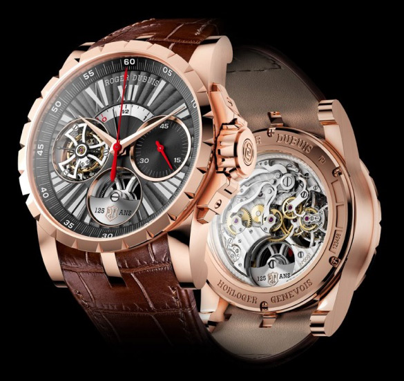 Roger Debuis - Excalibur Flying Tourbillon Chronograph Limited Edition Watch