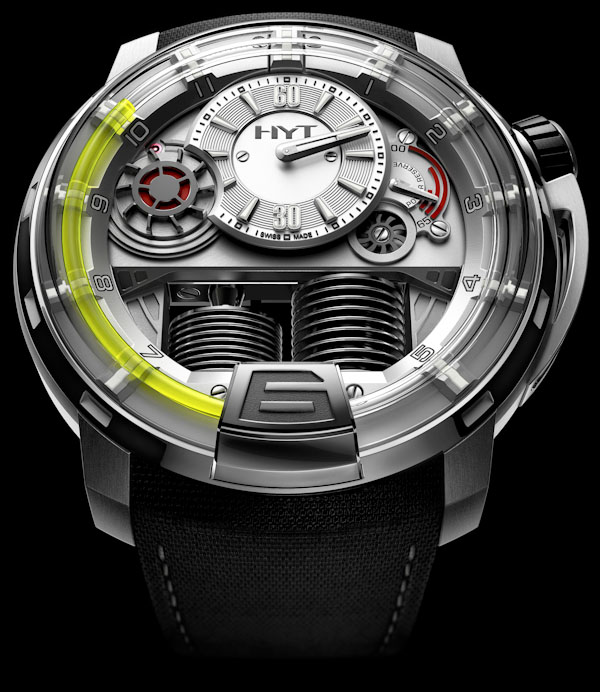 Meet the new watch brand HYT and Hydro Mechanical Watch HYT H1