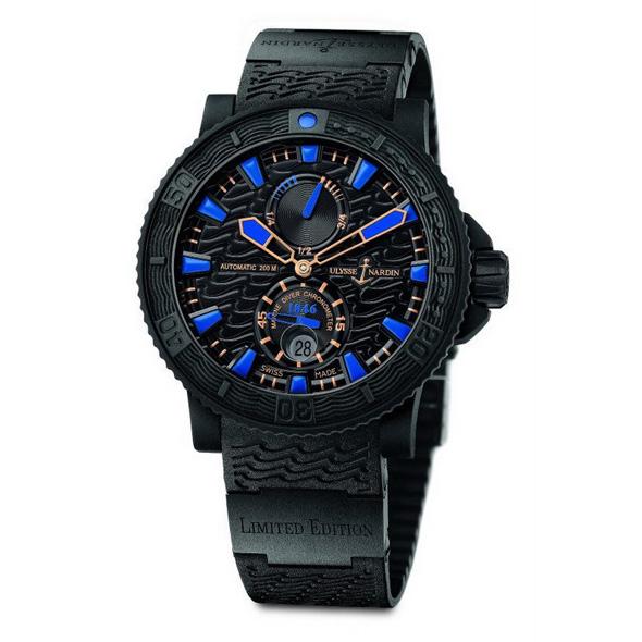 Ulysse Nardine Limited Edition Marine Diver for Evgeni Plushenko