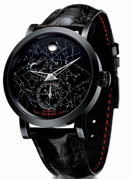Movado Red Label Skymap watch 2012